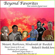 Richard O. Burdick's CD21 Beyond Favorites